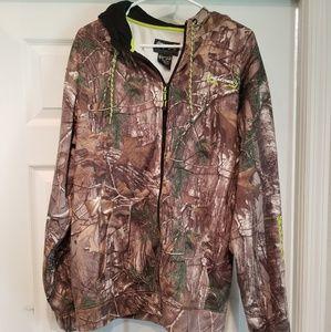 Realtree camo jacket and shirt